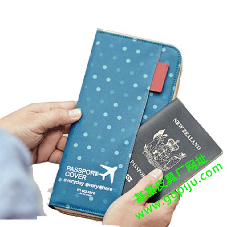 护照夹零钱包